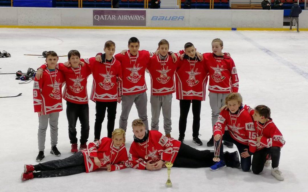 Бронзови медали за отбора до 16 години сезон 18/19